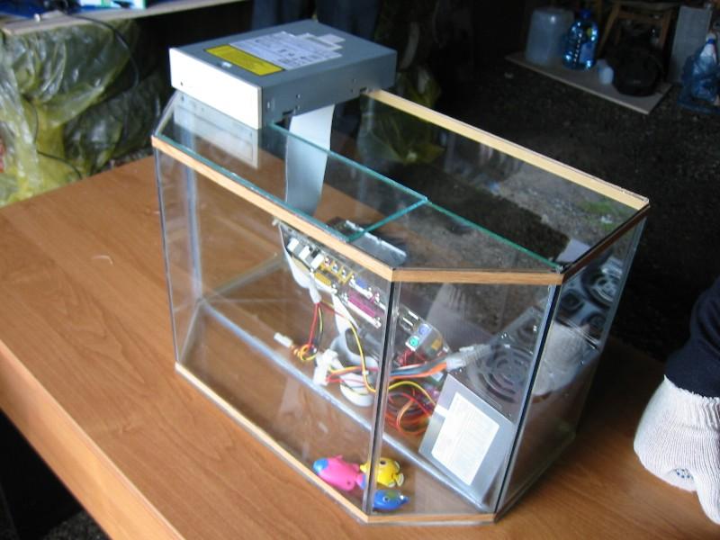 Как самим сделать крышку на аквариум