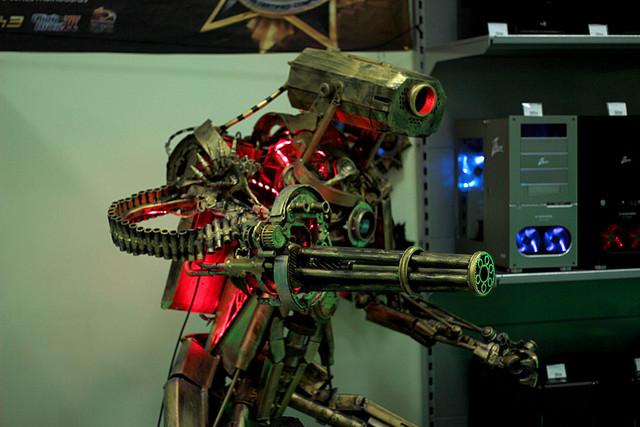 Боевого робота своими руками