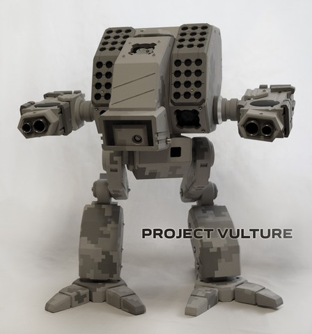 Обновление. Кастомный корпус по мотивам Battletech.