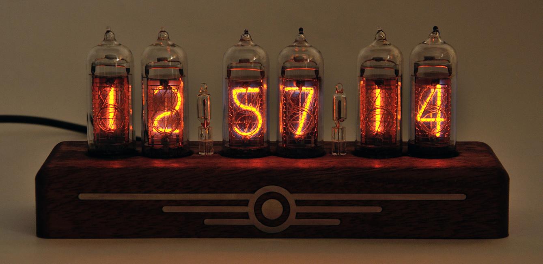 Часов на газоразрядных лампах своими руками
