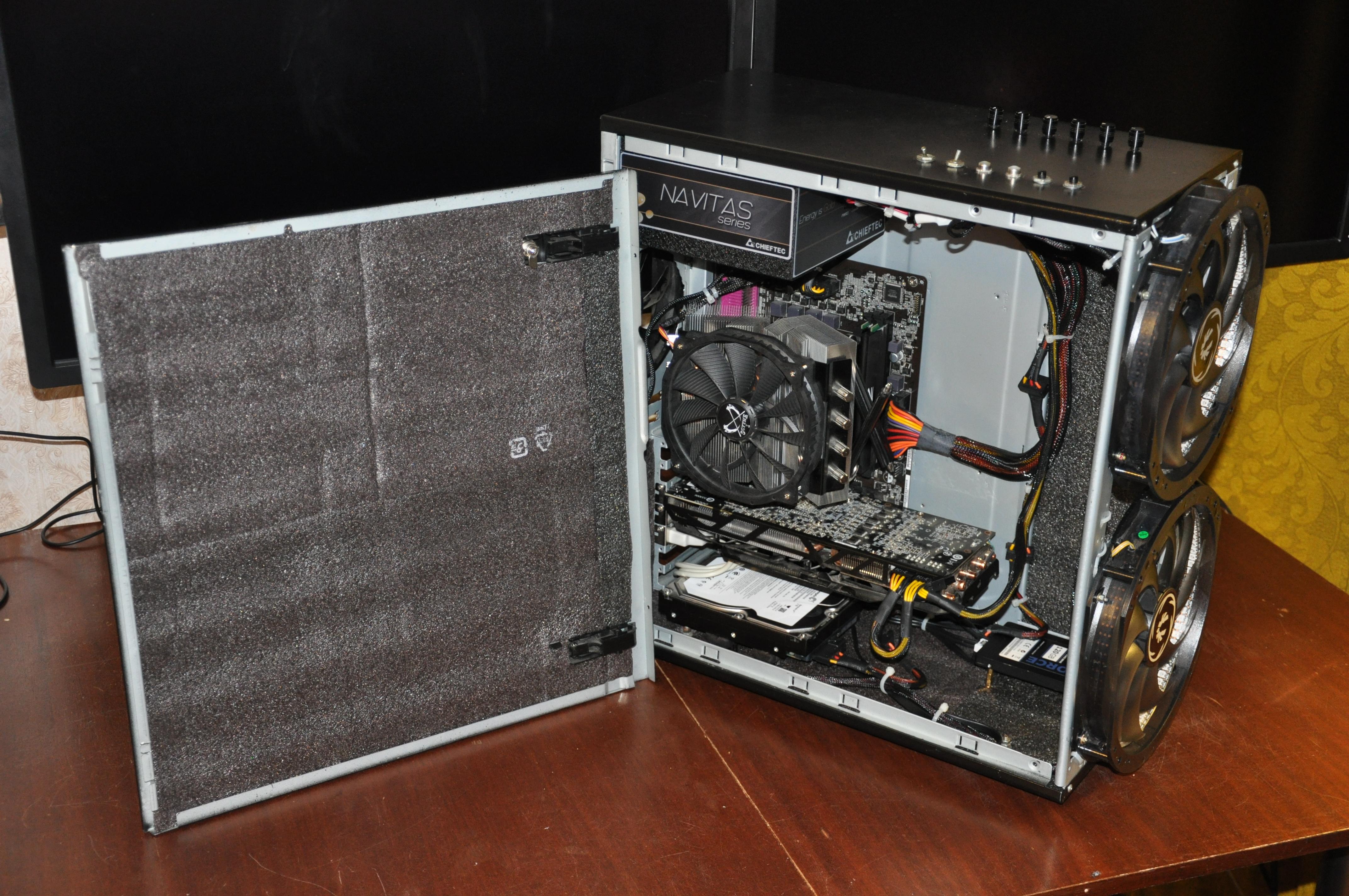 Каркас для компьютера своими руками 33