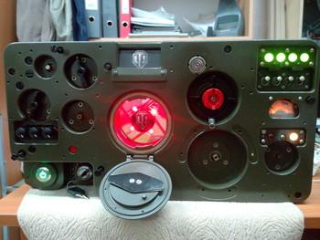 Танковая радиостанция Р-123М
