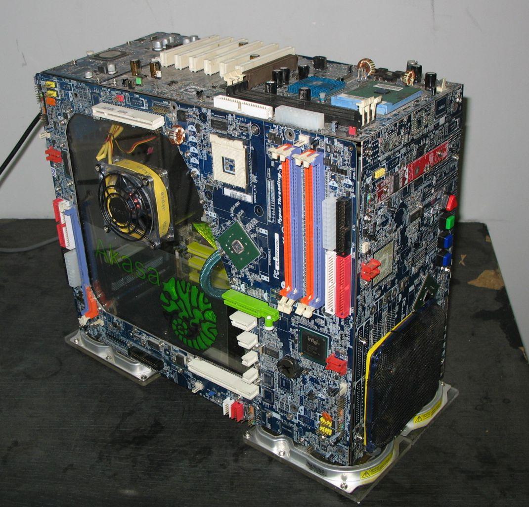 Каркас для компьютера своими руками 47