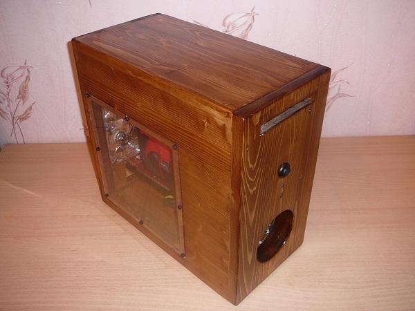 Корпус из дерева для компьютера своими руками