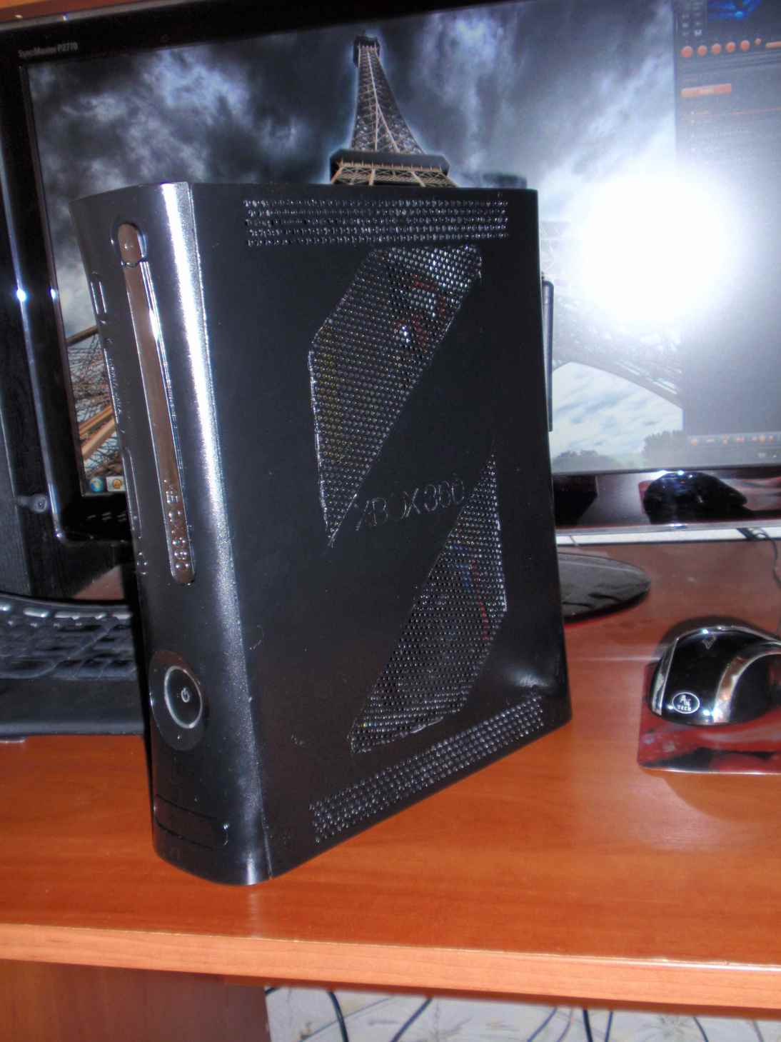 Моддинг корпуса Xbox 360 arade