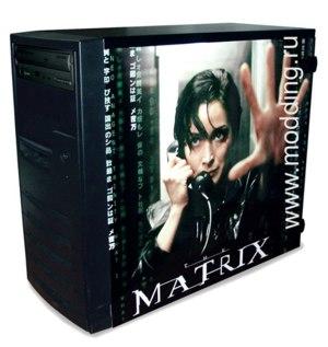 Глянцевые обои для корпуса  миди тауер     Matrix