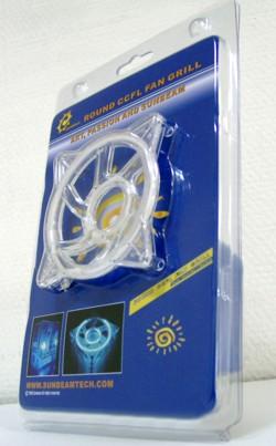 Неоновая решетка Round  для 80 мм вентилятора  лиловая