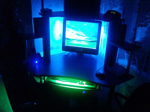Светодиодная лента компьютера своими руками 58