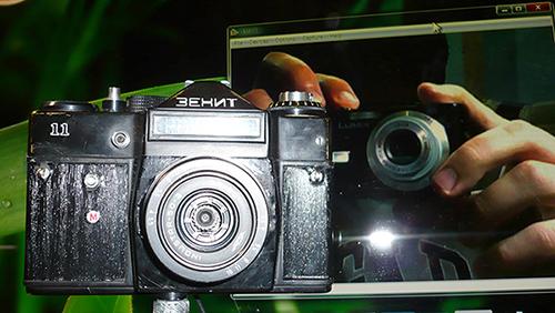 Цифровой фотоаппарат из зенита своими руками 4