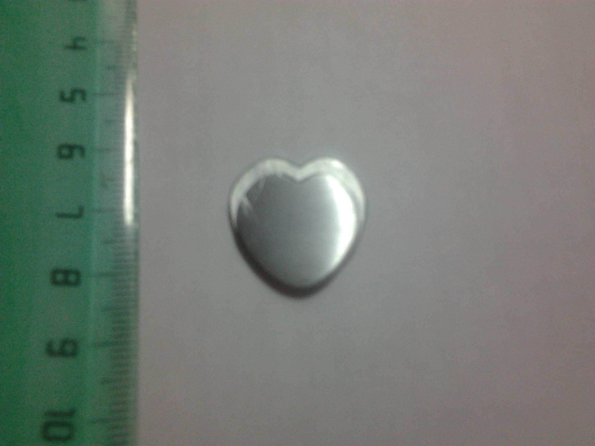 Сердце из монеты 10 рублей своими руками