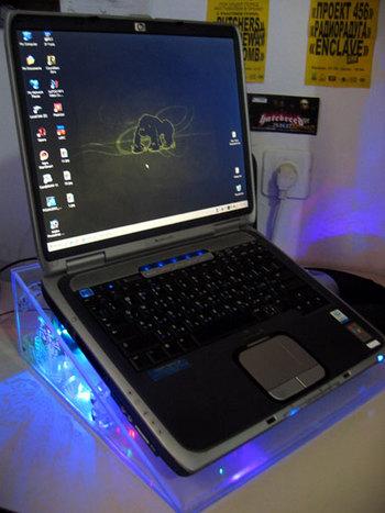 Подставка охлаждения под ноутбук своими руками