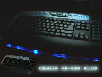 Моддинг Genius KB-29e blue