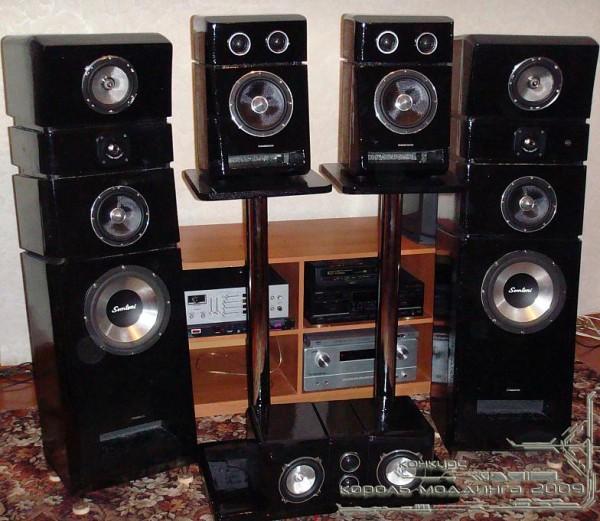 Король Моддинга 2009: акустические системы