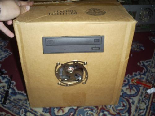 Макет компьютера из картона