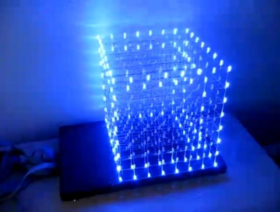 Моддинг LED Cube 8x8x8
