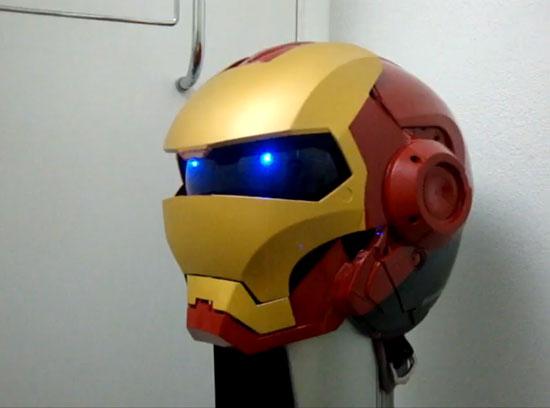 Как сделать в шлем подсветку