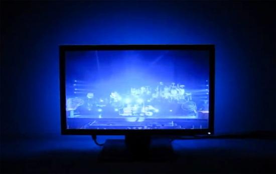 Светодиодная лента на телевизоре своими руками